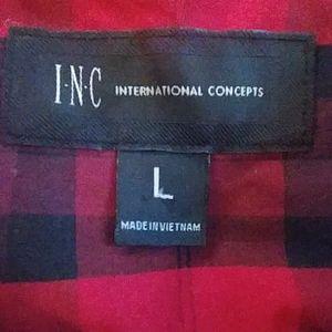 INC International Concepts Shirts - I.N.C. Mens Night Out Dress Shirt